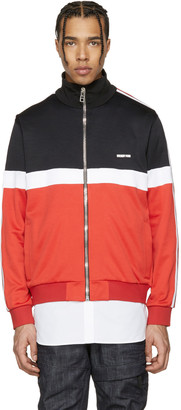 Givenchy Tricolor Colorblocked Track Jacket $1,520 thestylecure.com