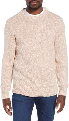 J.Crew Wallace & Barnes Crewneck Marled Cotton Sweater