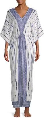 Saks Fifth Avenue Women's Tie-Dye Maxi Caftan