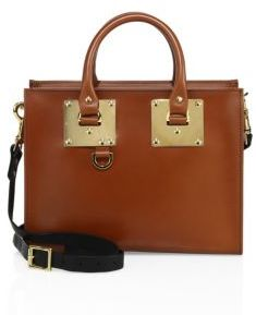 Sophie Hulme Albion Medium Box Tote $765 thestylecure.com