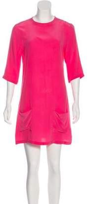 Equipment Silk Mini Dress