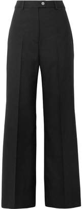 Acne Studios Modern Wool Wide-leg Pants - Black
