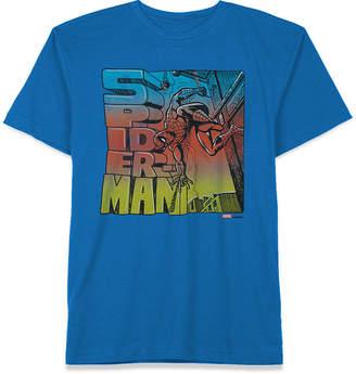 Marvel Big Boys Sketchy Spider-Man Graphic T-Shirt