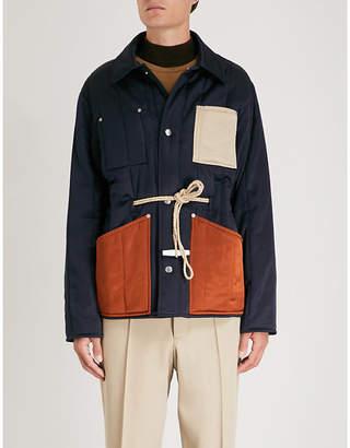 Maison Margiela Drawstring-waist shell jacket