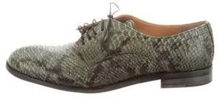 Maison Margiela Replica Snakeskin Derby Shoes