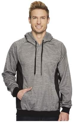 Roper 1466 Cationic Grey Bonded Fleece Hoodie Men's Sweatshirt