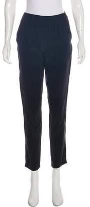 Masscob High-Rise Silk Pants