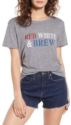 Sub Urban Riot Sub_Urban Riot Red, White & Brew Graphic Tee