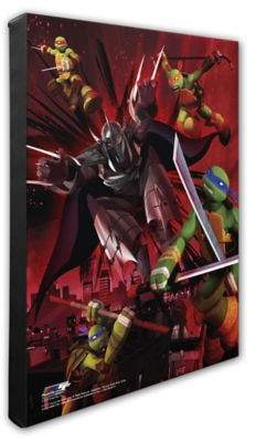 Buy NickelodeonTM Teenage Mutant Ninja Turtles XII 20-Inch x 24-Inch Canvas Wall Art!