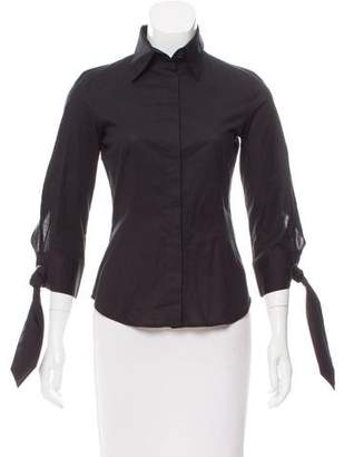 Just Cavalli Tailored Button-Up Top