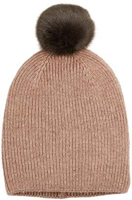 Pieces Women's Pcjettie Cashmere Hood Beanie, Grey (Light Melange)