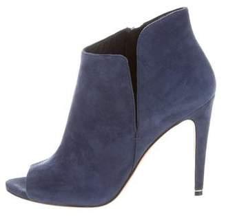 Sigerson Morrison Peep-Toe Ankle Boots