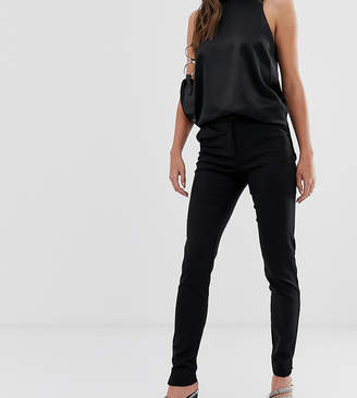 Ecco Y.A.S Tall tailored ankle length cigarette trouser in black