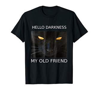 Old Friend Halloween Hello Darkness My Cat TShirt Gift Idea