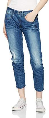 ... G Star G-Star Women\u0027s Arc 3D Boyfriend Jeans, Blue (Medium Aged Destroy