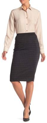 Modern Designer Pull-On Knit Skirt