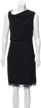 Diane von Furstenberg Overlay Shift Dress