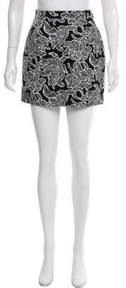 Balenciaga Canvas Painted Mini Skirt w/ Tags