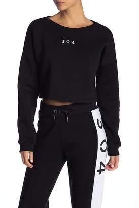 304 Cropped Cutout Sweater