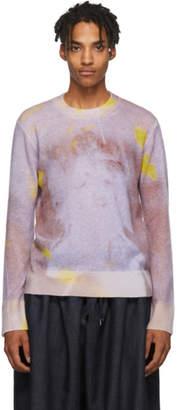 Oamc Purple Acid Crewneck Sweater