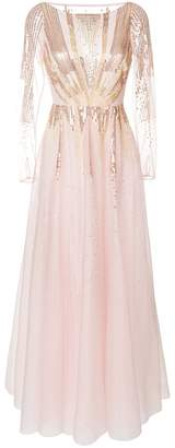 Temperley London Mineral flared dress