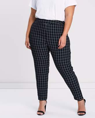 09ebb21c056 Evans Black Plus Size Trousers - ShopStyle Australia