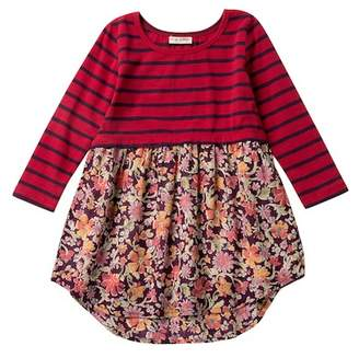 Mimi & Maggie Rustic Flowers Dress (Toddler, Little Girls, & Big Girls)