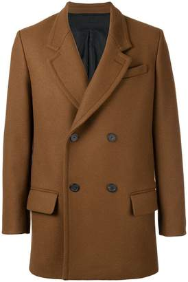 Ami Alexandre Mattiussi Double Breasted Short Coat