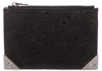 Alexander Wang Embossed vLeather Coin Pouch