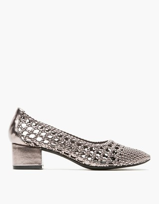 Bitsie Woven in Pewter $135 thestylecure.com