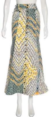 Just Cavalli Printed Maxi Skirt
