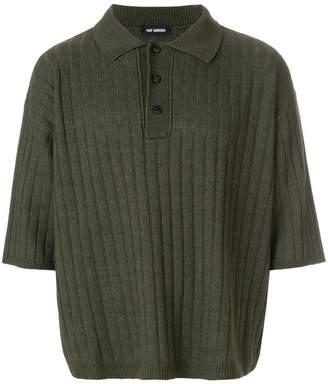 Raf Simons oversized polo shirt