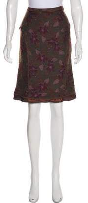 Etro Wool-Blend Skirt