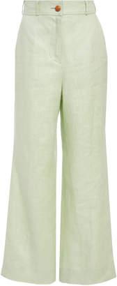 Zimmermann Corsage Cropped Pants
