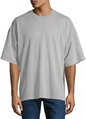 Fear Of God Oversized Mesh Crewneck T-Shirt