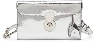 Ralph Lauren Python Ricky Crossbody Bag
