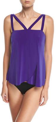 Magicsuit Michelle Solid Tankini Swim Top