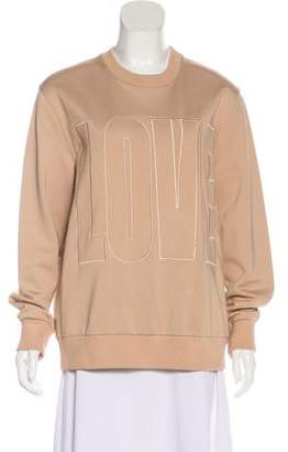 Givenchy Love Embroidered Sweatshirt