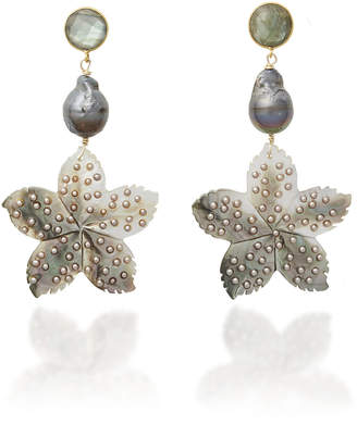 Eliza J Brinker & Waikiki Earrings