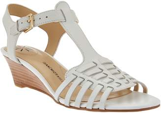White Low Wedge Women s Sandals - ShopStyle a192154b256d