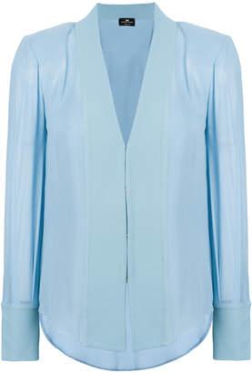 Elisabetta Franchi v-neck shirt