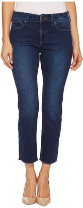 NYDJ Petite Petite Sheri Slim Ankle w/ Fray Hem in Cooper Women's Jeans