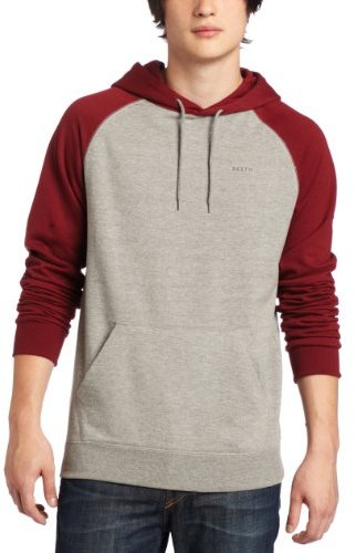 Brixton Men's Fuse Raglan Hooded Sweatshirt