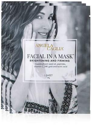 SpaceNK Angela Caglia Facial in a Mask Sheet Masks, Set of 3