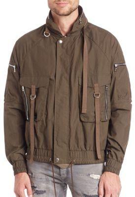 John Elliott Zip-Front Parachute Jacket $595 thestylecure.com