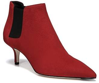 Via Spiga Maeve Suede Kitten Heel Ankle Boot