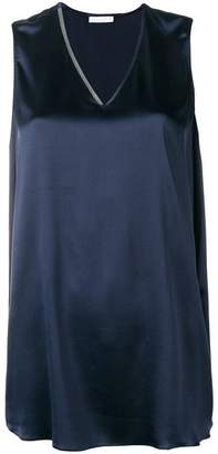 Fabiana Filippi sleeveless flared blouse