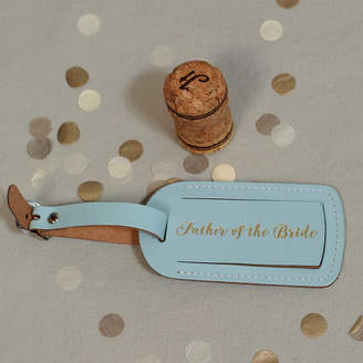 Undercover Mr And Mrs Wedding Luggage Tag