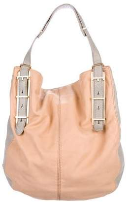 Botkier Bicolor Leather Handle Bag