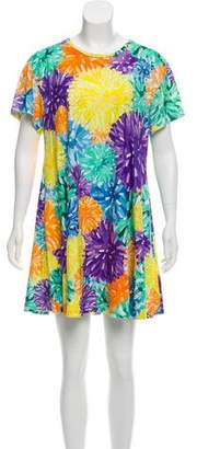 House of Holland Printed T-Shirt Dress